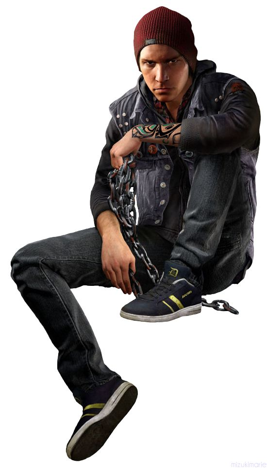 """Delsin Rowe // inFamous Second Son videogame""""I'm gonna be different, Okay? I'm not there doing what they do, I'm there to save lives, I'm gonna be like Super Man."""""""