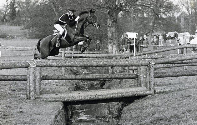 Mark in action on cross-country day with Charisma IV — the horse that he won two Olympic gold medals on in 1984 and 1988