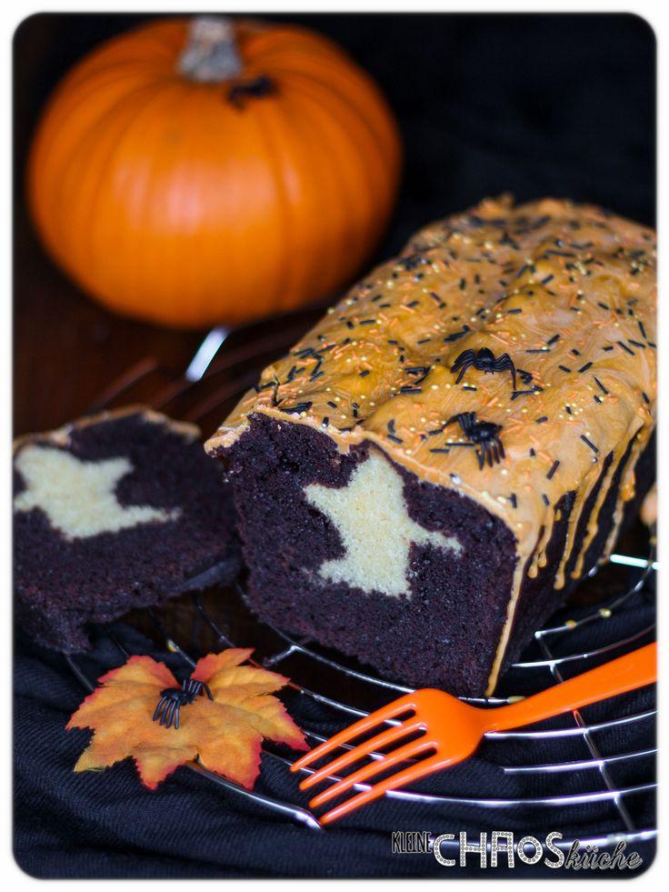 Halloween Kuchen mit Gespenst Ghost Cake Halloween kuchen
