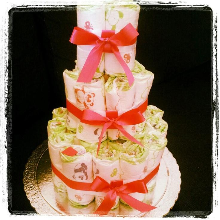 Nappy-cake!