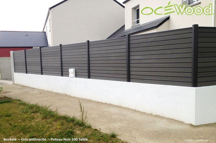 1000 id es propos de cloture en composite sur pinterest terrasse en bois composite. Black Bedroom Furniture Sets. Home Design Ideas