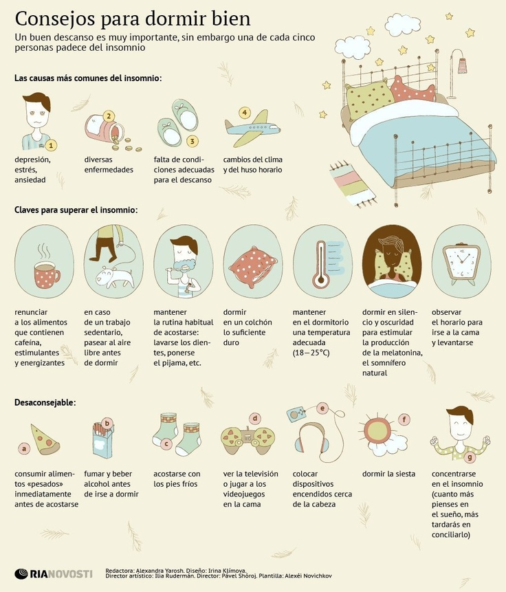 Consejos para dormir bien #infografia #infographic #health | Infografías en castellano