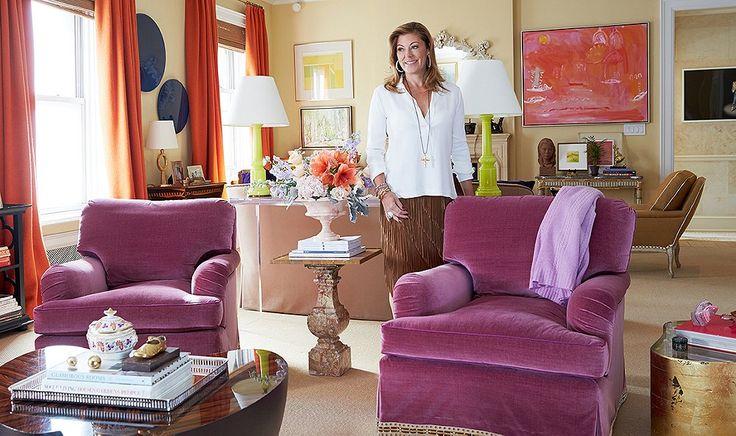 Inside Amanda Nisbet's Unabashedly Vibrant Manhattan Home
