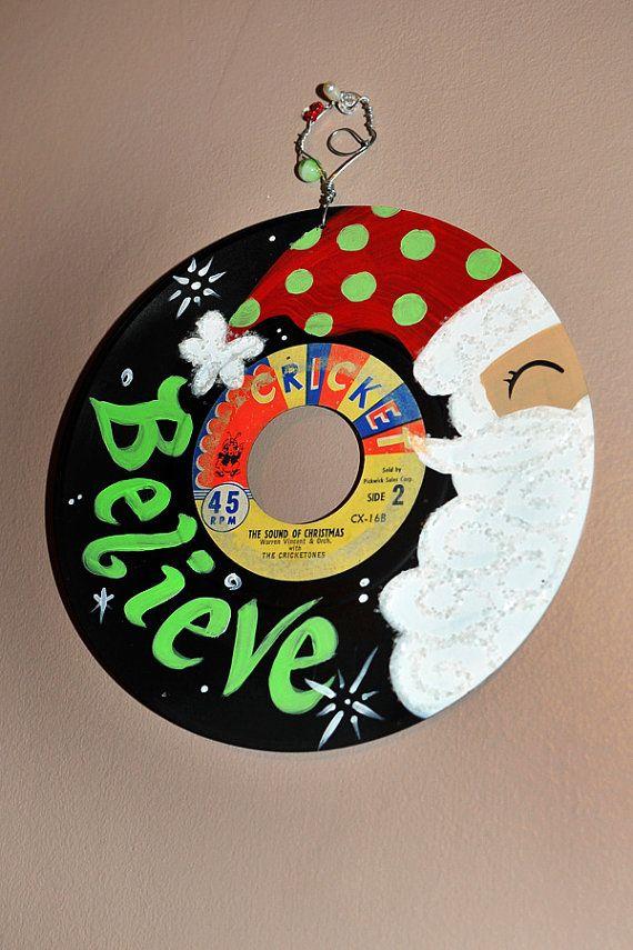 25 Best Painted Records Images On Pinterest Vinyl