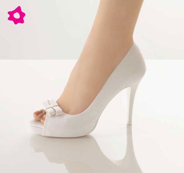 scarpa sposa romantica