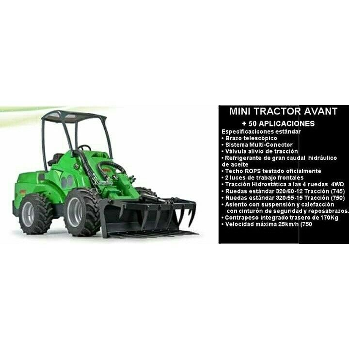 mini tractor multifuncion