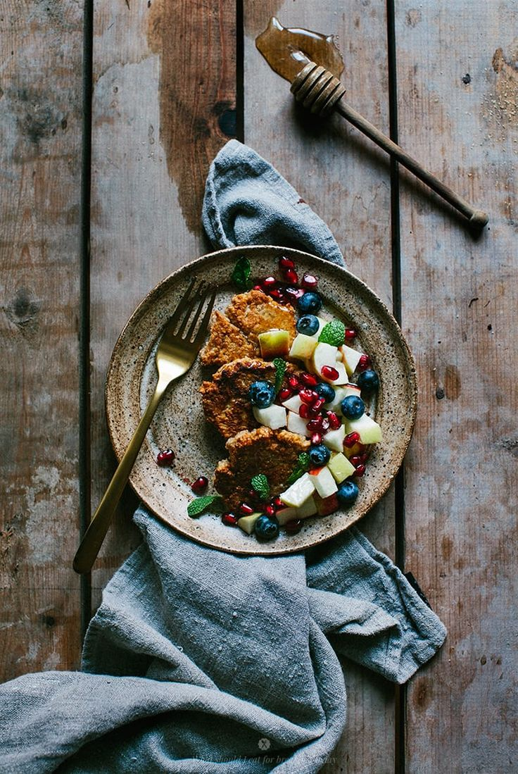 Millet pancakes / Marta Greber