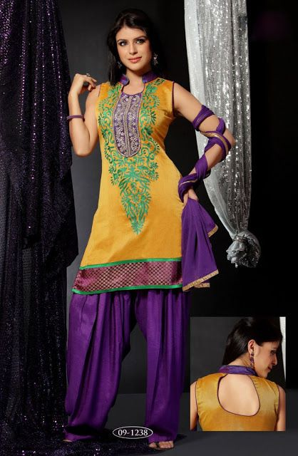 Patiala Salwar | Patiala Trouser | Patiala Salwar Kameez | New Patiala Fashion 2012