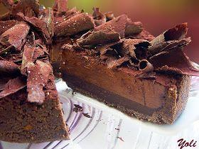 Вкусно с Йоли: Шоколадова торта с мока крем
