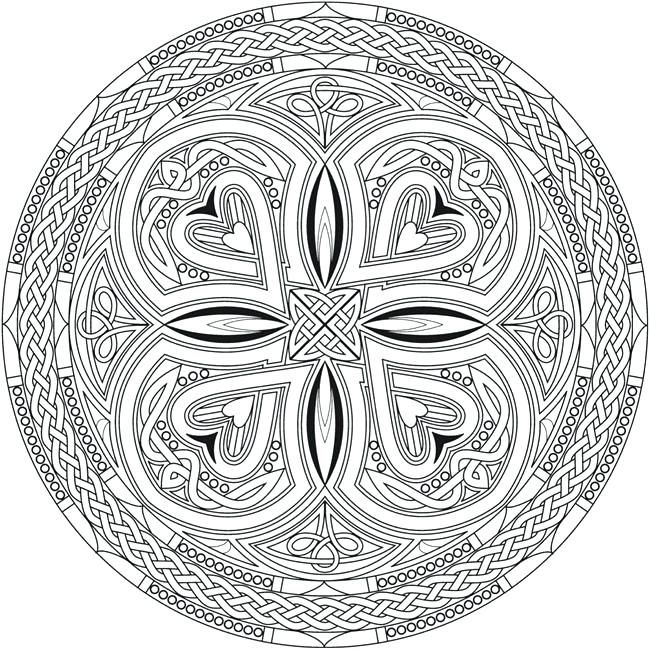 Celtic Designs Coloring Pages Creative Haven Mandalas Coloring Book Publications Free Printable Celtic Kn Mandala Coloring Pages Celtic Coloring Celtic Mandala