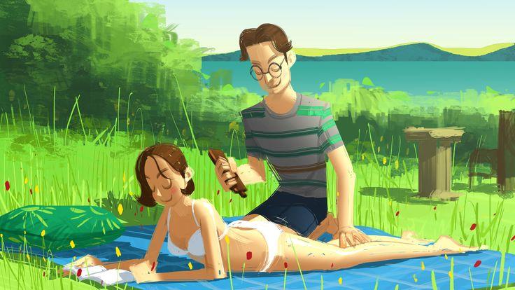 ArtStation - Summer, Beomjin Kim