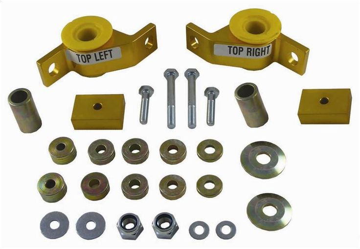 Whiteline 2002-2007 Subaru Impreza & WRX & STI/ 2005-2006 Saab 9-2X Front Control Arm - Lower Inner Rear Bushing (Anti-Lift/ Caster Correction)