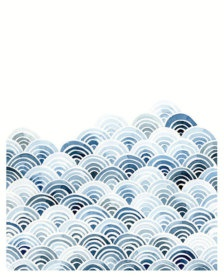 Blue Waves Watercolor Painting print - Etsy.com $15 8x10