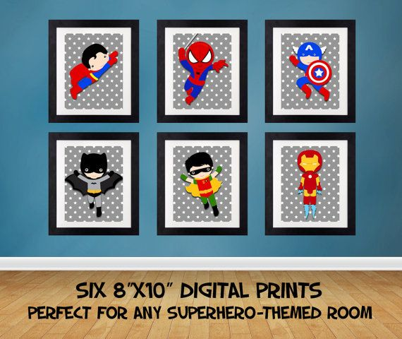 Unique Superhero Wall Art Ideas On Pinterest The Source Dc - Superhero wall decals application