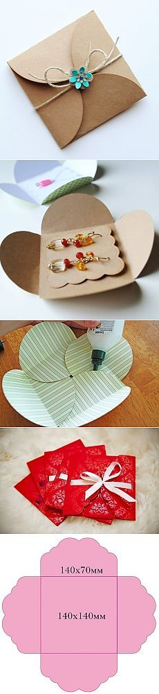 Great idea for mailing jewelry.