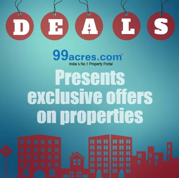 Grab the latest #deal on various #properties at #99acres