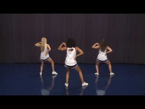 2016 UCA Level 2 Try-out Dance by 8-counts - YouTube