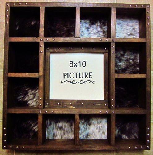 Picture Frame Belt Buckle Display Case, $175.00