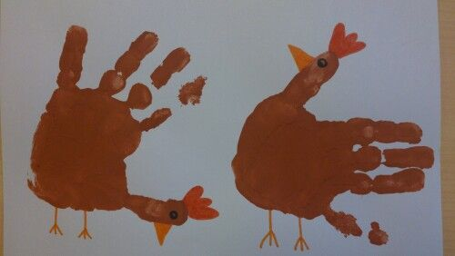 Chicken handprint