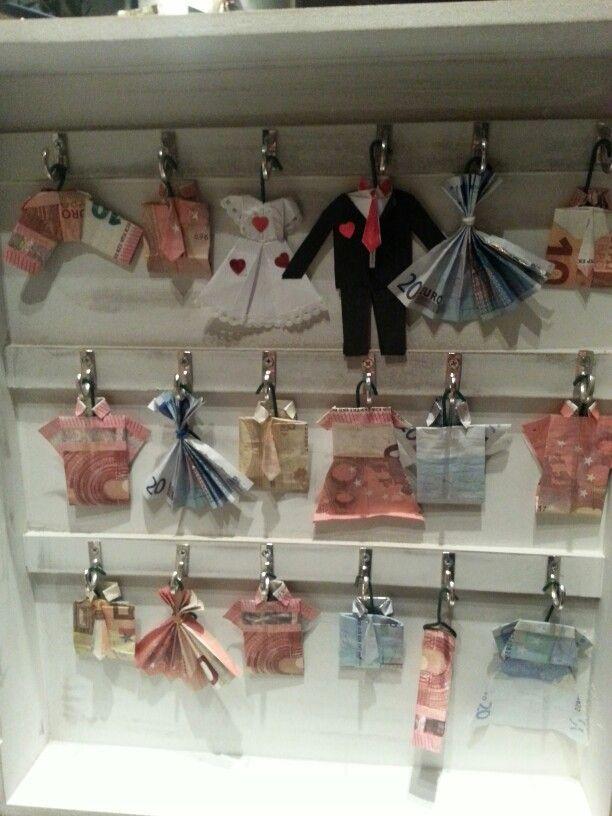 sleutelkastje gevuld met geld voor trouw