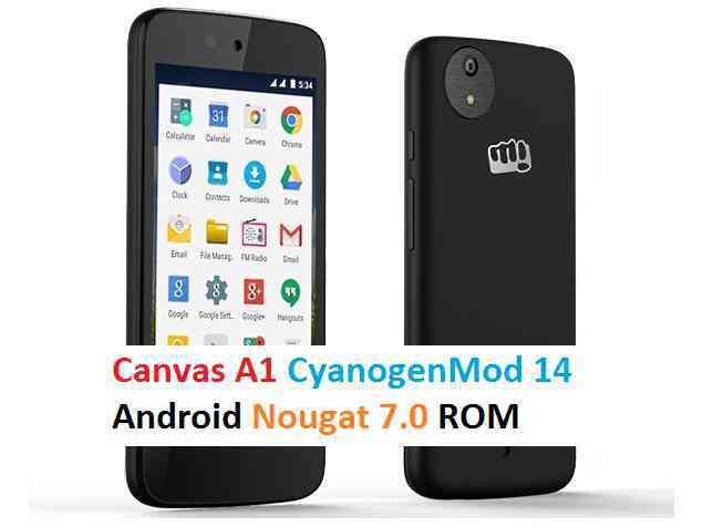 Install CM14 on Micromax Canvas A1 (Android One)