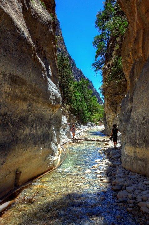 Samaria Gorge Sideroportes