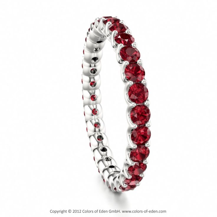 25 best ideas about ruby eternity ring on