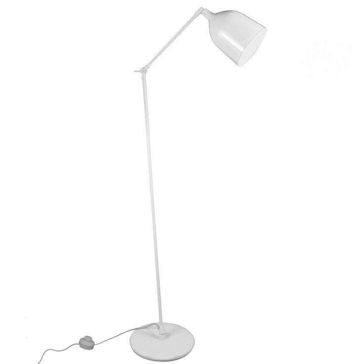 MEKANO - Lampa podłogowa Biały Wys162cm Aluminor