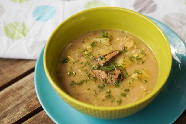 gotować! - Słowacka zupa z kapusty włoskiej