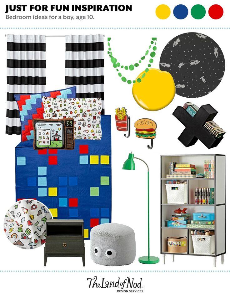 Ideas For Boys Bedrooms Age 10 589 best nod: kids' bedrooms images on pinterest | land of nod