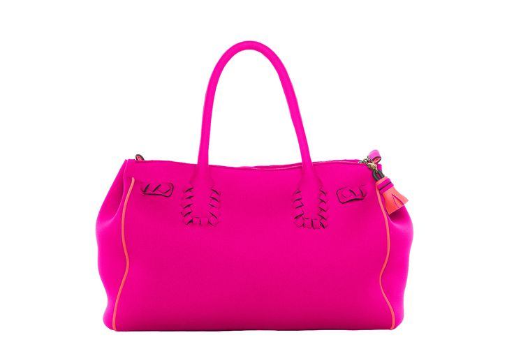 60 nodi bag fisher pink and orange