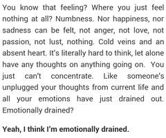 emotionally drained - Google Search