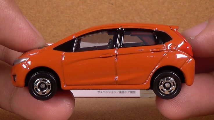Tomica 066 - Honda Fit (Takara Tomy Japan Diecast Toy Car Unboxing)