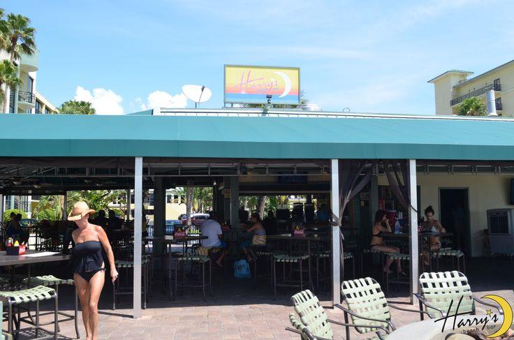 Harry's Beach Bar sunny beach bar fun florida stpete