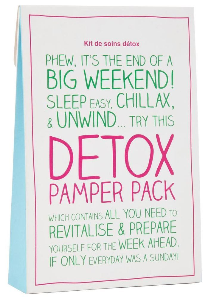The Ultimate Full Body Detox Pamper Gift Pack