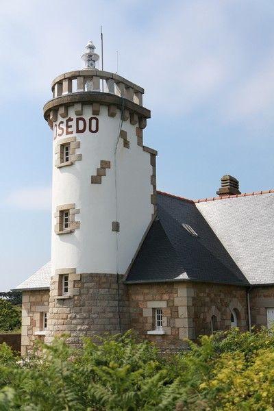 phare du Rosédo l'île de Bréhat Côtes-d'Armor BretagneFrance48.857500, -3.003330
