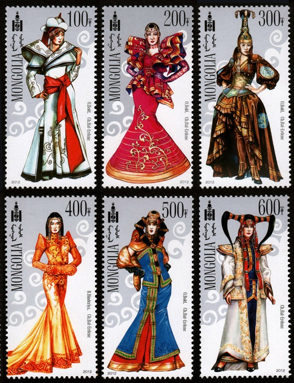 Modern Mongolian's National Costumes 2012