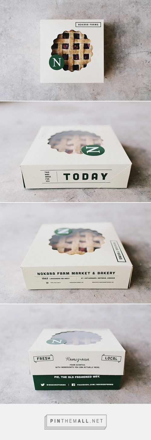 Nokara Farms Pie BoxDesigned by Michael Boekestyn