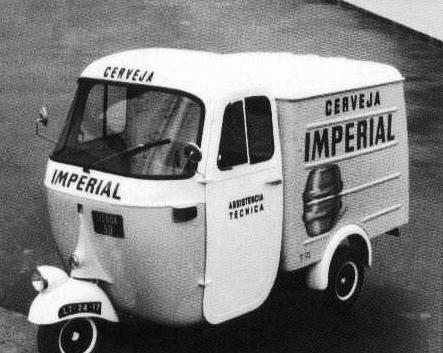 Veículo de Distribuição da Sociedade Central de Cervejas (Sagres) circa 1951