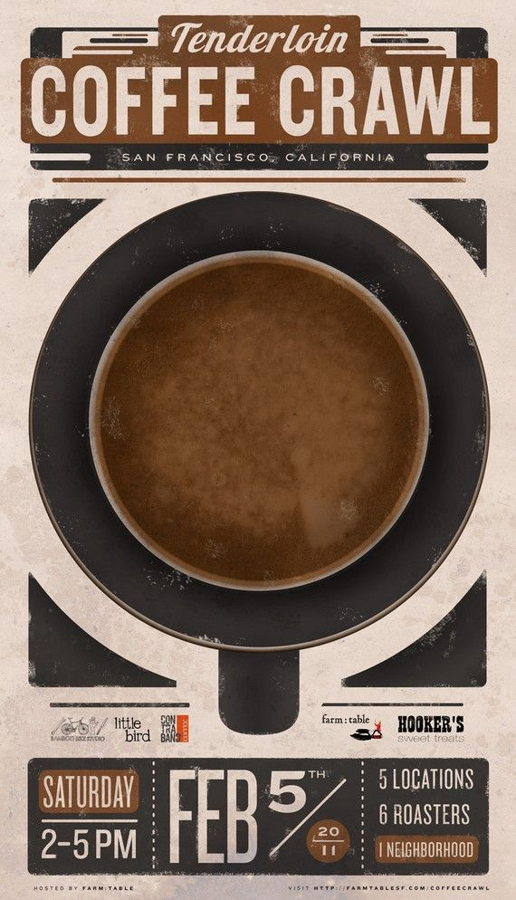 coffee poster.