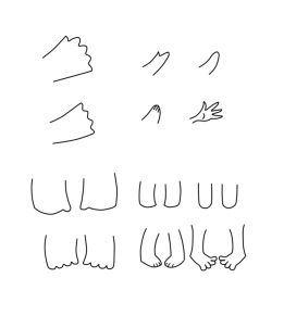 how to draw chibi bodies step 5