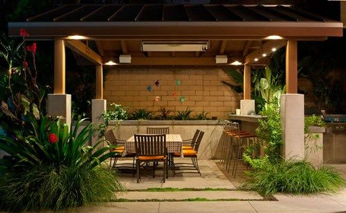 Decoration Style, The Cute Patio Cover Lights Night Terry Design Also Beautiful Table Also Chair Then Beautiful Wooden Mattera Also Beautiful Lamp Also Flower: The Nice Design Of The Patio Cover Designs With The Beautiful Decoration