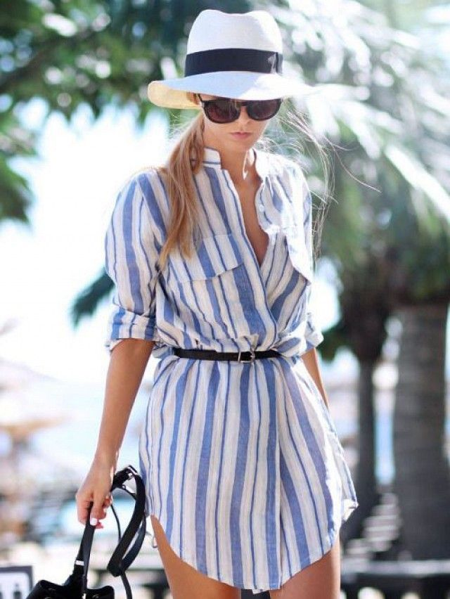 Belted shirt dress - perfect if just a tad too obscenely short...