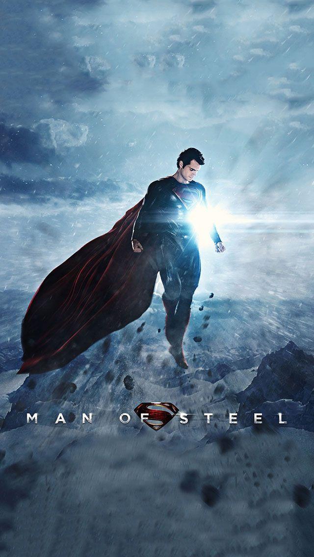 Man Of Steel IPhone 5 Wallpaper