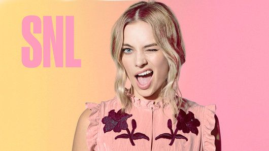 Margot Robbie hosts Saturday Night Live on October 1, 2016 with musical guest The Weeknd.
