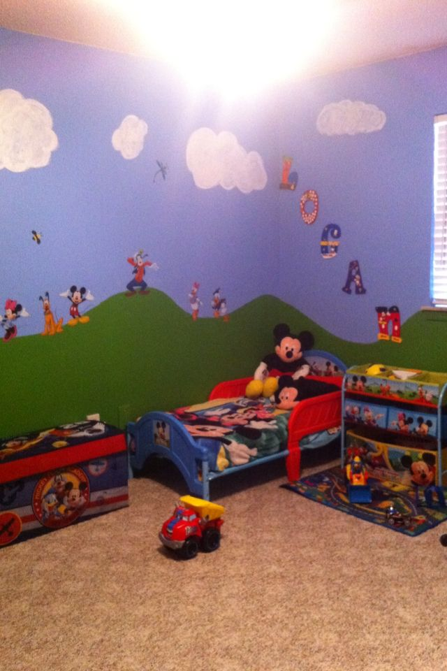 25 Best Ideas About Mickey Mouse Bedroom On Pinterest Mickey Mouse Room Mickey Mouse Nursery