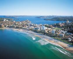 Manly Beach, Australia. This beach is located in Sydney.