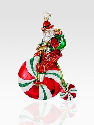 Christopher Radko Minty Roller Ornament