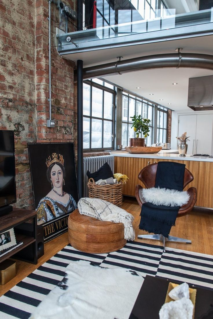 Heathers eclectic little bit naughty nyc style london loft