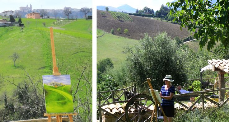 Have a look at some of the many artists who have enjoyed painting holidays with us | Painting Holidays Italy